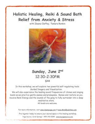 Holistic Healing, Reiki & Sound Bath