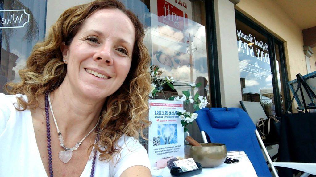Free Reiki Healing Station