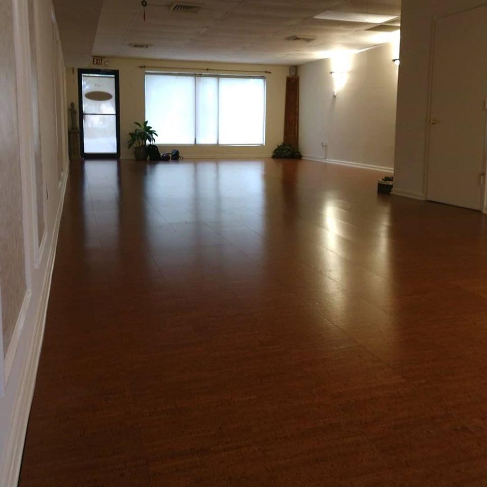 Hatha Flow Yoga Room
